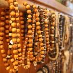 Hand made wooden beads