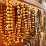 Hand made wooden beads